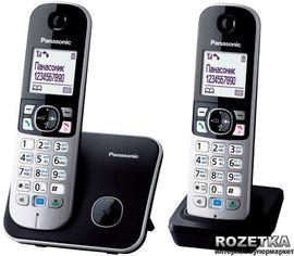 Акция на Panasonic KX-TG6812UAB Black от Rozetka