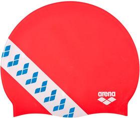 Акция на Шапочка для плавания Arena Team Stripe Cap 001463-477 Red (3468336074473) от Rozetka