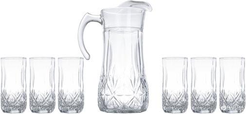 Акция на Набор для напитков Luminarc Brighton из 7 предметов (N0782) от Rozetka