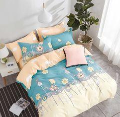 Комплект постельного белья Home Line Сатин №177 160х230 (2600001412055) от Rozetka