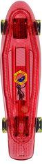 Пенни борд Shantou 55х16 см до 40 кг со светом Красный (CEL-030-красный) от Rozetka