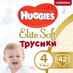 Акция на Трусики-подгузники Huggies Elite Soft Pants 4 (L) 42 шт (5029053547008) от Rozetka