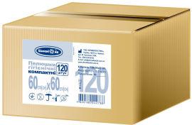 Акция на Пеленки гигиенические Білосніжка Компактные 60х60 см 120 шт (4820180242788) от Rozetka