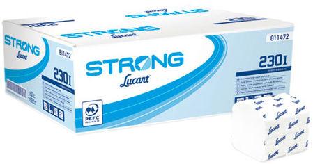 Акция на Туалетная бумага Lucart Strong 230 I 2 слоя 230 листов 40 упаковок (811472) от Rozetka