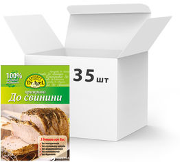 Упаковка приправы Dr.IgeL к свинине 20 г х 35 шт (14820155170167) от Rozetka