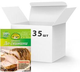 Акция на Упаковка приправы Dr.IgeL к свинине 20 г х 35 шт (14820155170167) от Rozetka