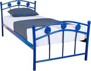 Акция на Односпальная кровать Eagle Smart 90 х 200 см Blue (E2004) от Rozetka