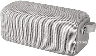 Акция на Акустическая система Fresh 'N Rebel Rockbox Bold M Waterproof Bluetooth Speaker Cloud (1RB6500CL) от Rozetka