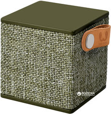 Акция на Акустическая система Fresh 'N Rebel Rockbox Cube Fabriq Edition Army (1RB1000AR) от Rozetka