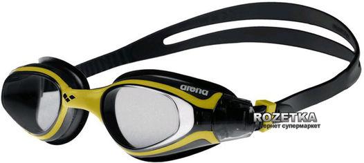 Очки для плавания Arena Vulcan Pro 92284-35 Black-Yellow (3468334052930) от Rozetka