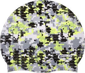 Шапочка для плавания Arena Print 2 1e368-503 Camouflage Black (3468336073858) от Rozetka
