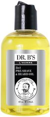 Акция на Масло для бритья и бороды Dr. B's L'Homme Man Care Pre-Shave Oil 118 мл (755439352885) от Rozetka