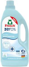 Акция на Жидкое средство для стирки Frosch Zero Sensitiv 1.5 л (4009175947659) от Rozetka