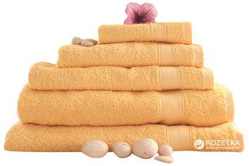 Акция на Махровое полотенце Novita 100х150 Желтое (100х150 Sun Yellow) от Rozetka