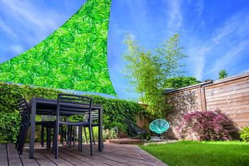 Тент Progarden Triangle 360х360х360 см Leaf (X61500270) от Rozetka