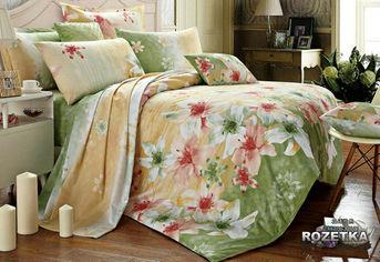 Комплект постельного белья Zastelli Сатин Двухспальний (евро) 200x220 (6276A_6277Bдв) от Rozetka