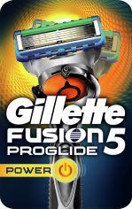Акция на Станок для бритья мужской (Бритва) Gillette Fusion5 ProGlide Power Flexball с 1 сменным картриджем (7702018388646) от Rozetka