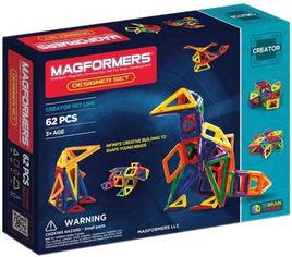 Конструктор магнитный Magformers Дизайнер 62 детали (703002) (8809134361146) от Rozetka