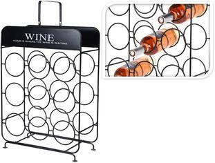 Акция на Подставка для бутылок Excellent Houseware 37.5x18x55 см (NB1401020) от Rozetka