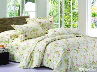 Комплект постельного белья Novita Сатин 22 Розочка 210х220 Combi (ROZ6205013169) от Rozetka