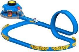 Набор Robocar Poli трек с пусковым механизмом и мини машинками Поли и Марк (83381) (4891813833819) от Rozetka