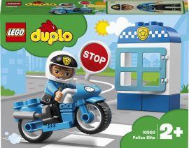 Акция на Конструктор LEGO DUPLO Полицейский мотоцикл 8 деталей (10900) от Rozetka