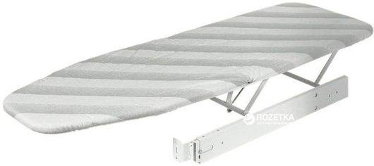 Акция на Гладильная доска Hafele встроенная выдвижная с чехлом 500 мм Серая (568.60.710) от Rozetka