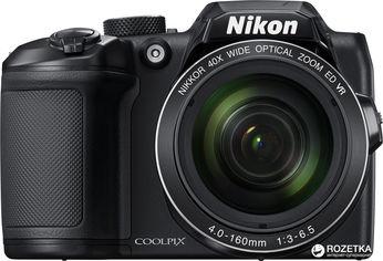 Акция на Фотоаппарат Nikon Coolpix B500 Black (VNA951E1) Официальная гарантия! от Rozetka