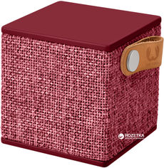Акция на Акустическая система Fresh 'N Rebel Rockbox Cube Fabriq Edition Ruby (1RB1000RU) от Rozetka