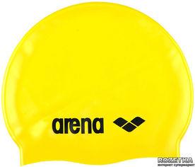 Шапочка для плавания Arena Classic Silicone 91662-35 Yellow (3468334550498) от Rozetka