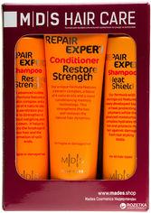 Косметический набор Mades Cosmetics по уходу за волосами Защита и Восстановление (8710444240802) от Rozetka