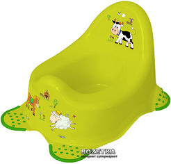Акция на Детский горшок Keeeper Funny Farm Зеленый (8722.274) от Rozetka