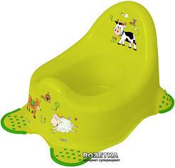 Детский горшок Keeeper Funny Farm Зеленый (8722.274) от Rozetka