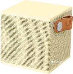 Акция на Акустическая система Fresh 'N Rebel Rockbox Cube Fabriq Edition Buttercup (1RB1000BC) от Rozetka