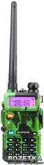 Рация Baofeng UV-5R Green + Гарнитура Baofeng c кнопкой РТТ от Rozetka