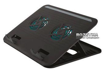 Подставка для ноутбуков Trust Cyclone Notebook Cooling Stand (TR17866) Black от Rozetka