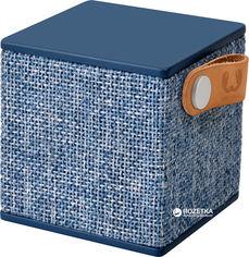 Акция на Акустическая система Fresh 'N Rebel Rockbox Cube Fabriq Edition Indigo (1RB1000IN) от Rozetka