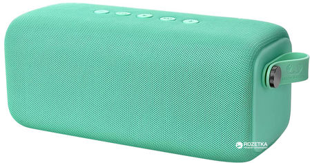Акция на Акустическая система Fresh 'N Rebel Rockbox Bold L Waterproof Bluetooth Speaker Peppermint (1RB7000PT) от Rozetka