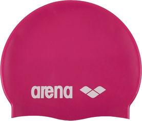 Шапочка для плавания Arena Classic Silicone 91662-091 Fuchsia White (3468333887458) от Rozetka