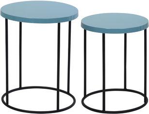 Набор журнальных столиков Home & Styling Collection 2 шт Light Blue (HZ1300830) от Rozetka