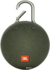 Акция на Акустическая система JBL Clip 3 Green (JBLCLIP3GRN) от Rozetka