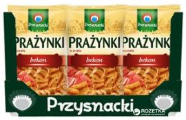 Упаковка картофельно-пшеничных снеков Przysnacki со вкусом бекона 120 г х 14 шт (5900073100216) от Rozetka