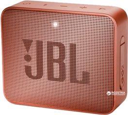 Акция на Акустическая система JBL Go 2 Pink (JBLGO2CINNAMON) от Rozetka