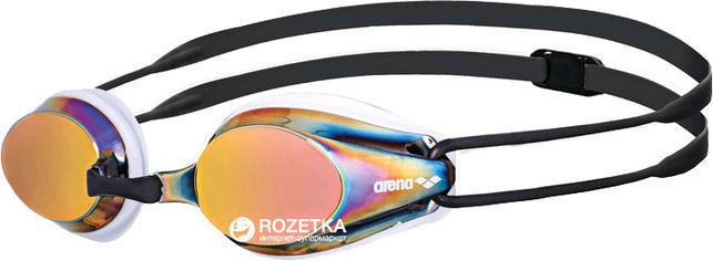 Акция на Очки для плавания Arena Tracks Mirror 92370-34 Black (3468335550176) от Rozetka