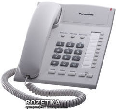 Акция на Panasonic KX-TS2382UAW White от Rozetka