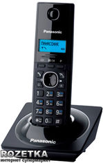 Акция на Panasonic KX-TG1711UAB Black от Rozetka