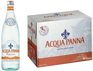 Акция на Упаковка минеральной негазированной воды Acqua Panna 0.75 л х 15 бутылок (8000815024422) от Rozetka