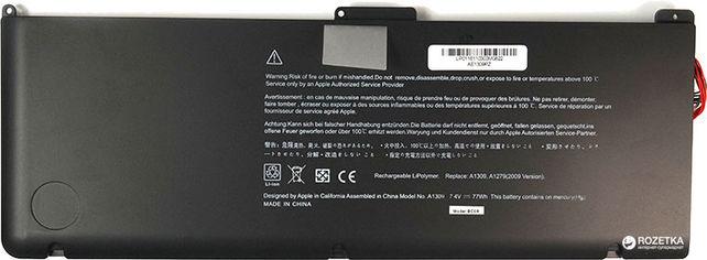 """Акция на Аккумулятор PowerPlant для Apple MacBook 17"""" (A1309) (7.4V/4600mAh/1Cells) (NB420087) от Rozetka"""