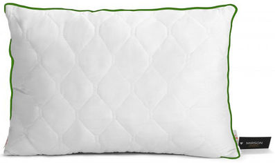 Подушка антиаллергенная MirSon Eco Тенсель (Modal) Aloe Vera 0387 Средняя 50х70 см (2200000393050) от Rozetka