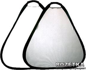 Акция на Отражатель треугольный Mircopro TR-052 80 Silver-White (TR-052_80) от Rozetka